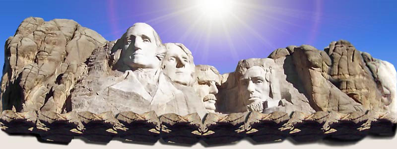 Naturalization test Mount Rushmore