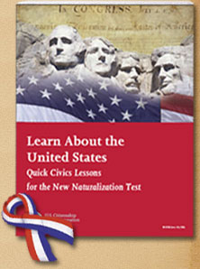 USCIS New Naturalization Test brochure